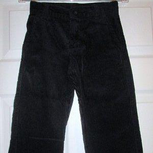 Gymboree Classic Holiday Black Corduroy Pants Sz 5